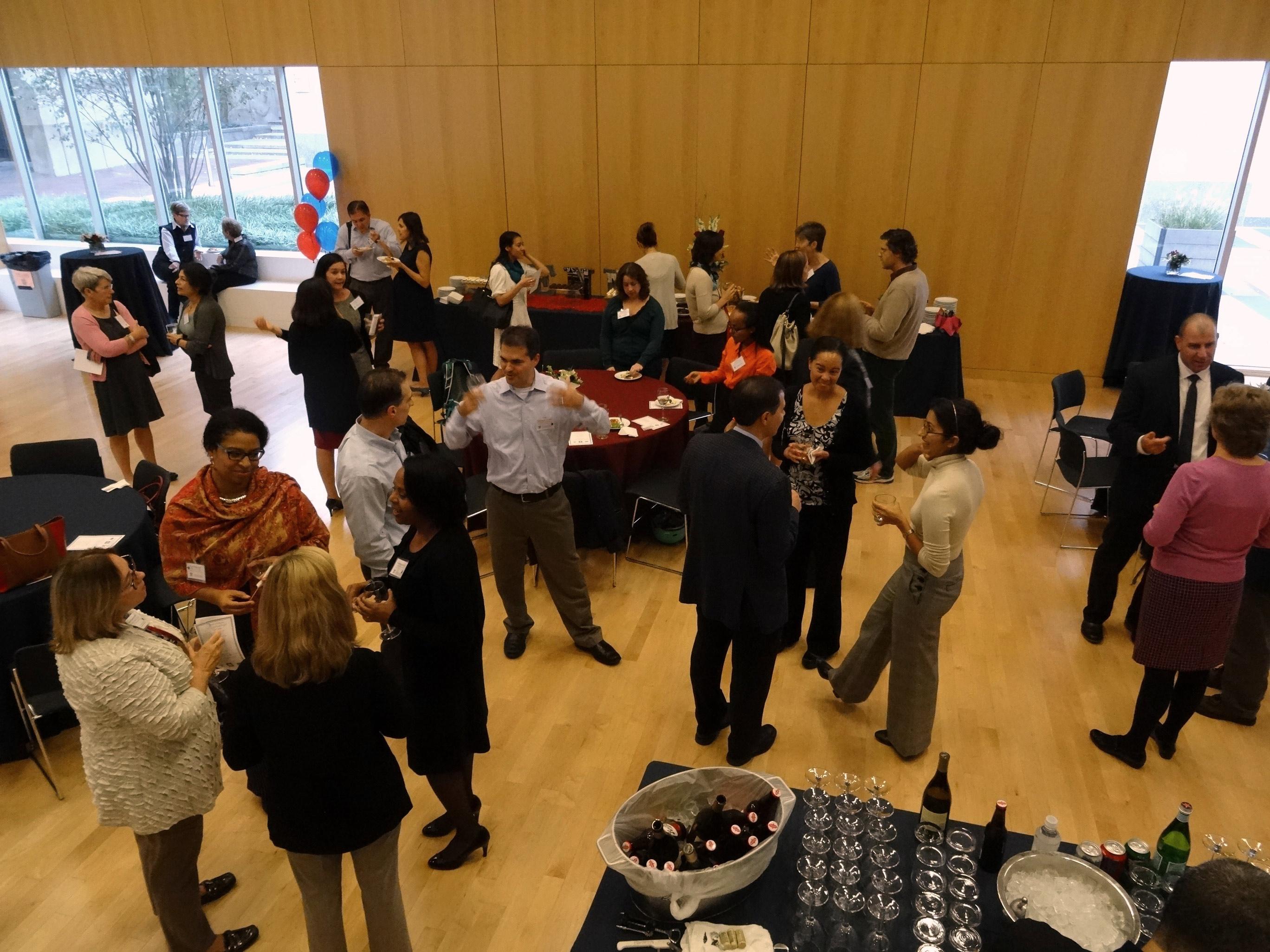 community celebrating research center