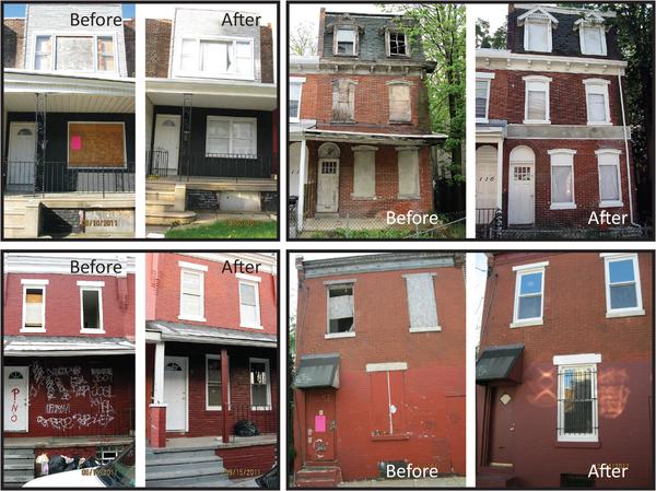 rehabbing inner city buildings